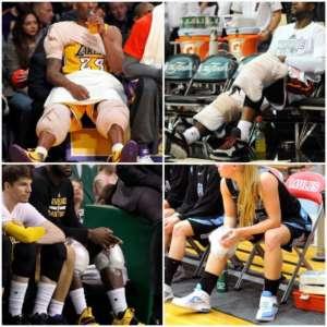 Hielo en lesiones deportivas